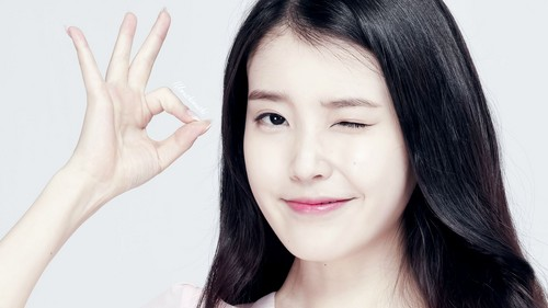 iu wallpaper with a portrait called iu wallpaper 1920x1080