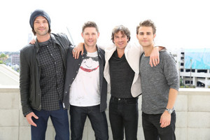 Ian, Paul, Jared and Jensen
