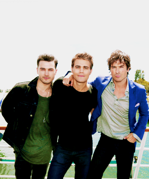 Ian, Paul and Michael