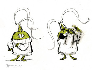 Inside Out - Disgust Concept Art