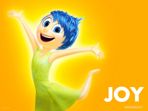 heroínas de filmes animados da infância wallpaper entitled Inside Out Joy