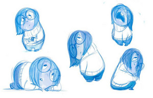 Inside Out - Sadness Concept Art