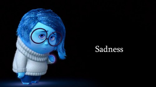 heroínas de filmes animados da infância wallpaper called Inside Out Sadness