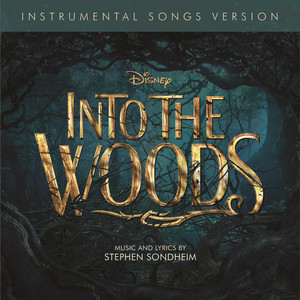 Into the Woods Instrumental Songs Version CD cover