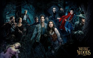 Into the Woods kertas dinding