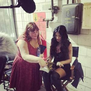 Izzy and Cassandra Clare