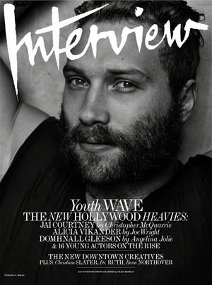 Jai Courtney - Interview Magazine Cover - July 2015