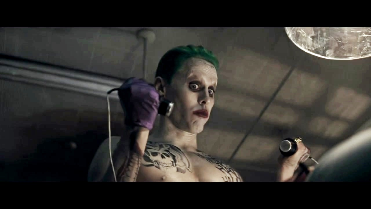 Jared Leto as The Joker in the First Trailer for 'Suicide Squad'