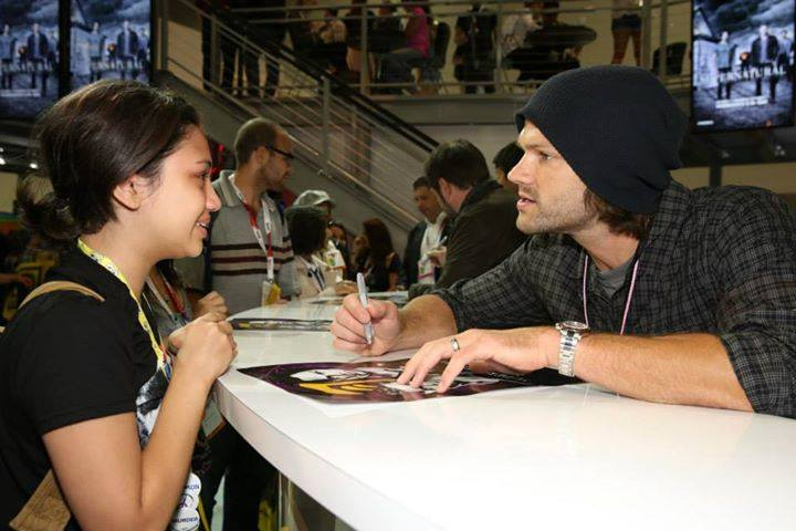 Supernatural Fan Comics a Fan at Comic Con 2015