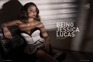 Jessica Lucas in Bello Magazine - January 2014