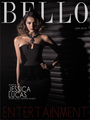 Jessica Lucas on the cover of Bello Magazine - January 2014
