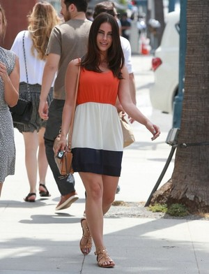 Jessica out in Beverly Hills