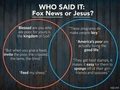 Jesus vs. Fox News  - debate photo