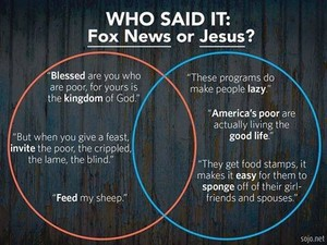 Jesus vs. Fox News
