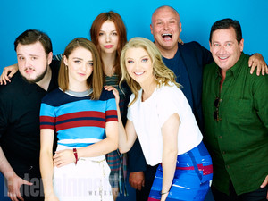 John Bradley, Maisie Williams, Hannah Murray, Natalie Dormer, Conleth Hill, David Nutter