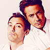 Jude Law and Robert Downey Jr