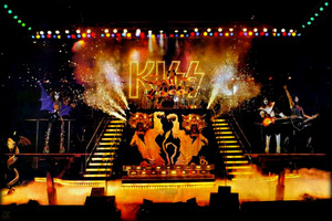 KISS ~Alive II foto shoot 1977