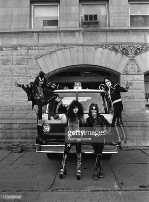 Kiss Cadillac Michigan 1975