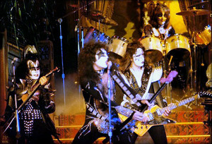 Kiss ~Paul Lynde Halloween special ~Hollywood, California…October 1976