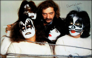 KISS and Dennis Woloch ~New York City…May 1979 (Dynasty Sessions)