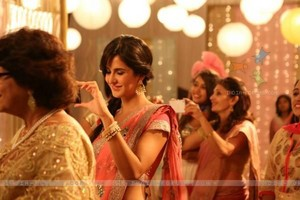 Katrina in traditional look