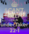 Keep calm and... - undertaker fan art