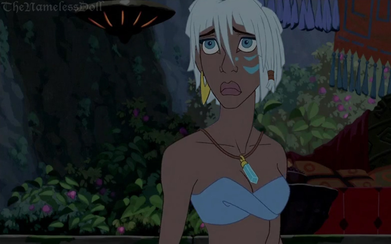 Kida with short hair