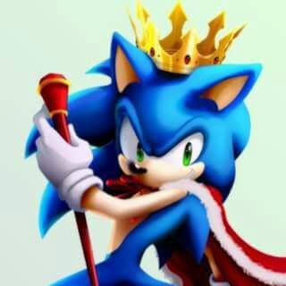 Sonic the Hedgehog wallpaper titled King sonic