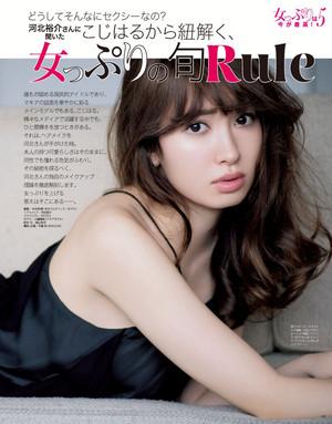 Kojima Haruna 「MAQUIA」 Aug. 2015