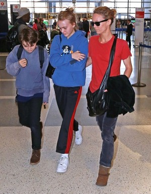 LAX airport in Los Angeles, California on March 22, 2015