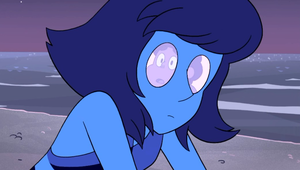 Lapis eyes when her gem was cracked