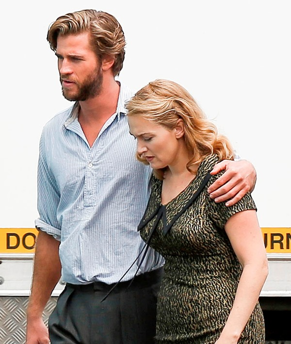 Liam and Kate Winslet