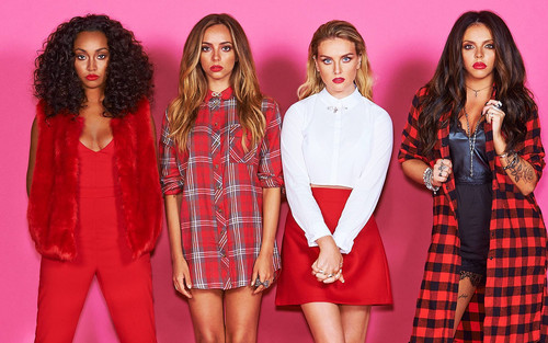 little mix fondo de pantalla probably with a cóctel, coctel dress, a chemise, and a playsuit, traje de juguete entitled Little Mix reDDy to go