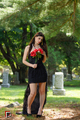 Lizzy is wearing Noneillah black collection at Remembering musicartist Sean Cos Mason photo shoot - victoria-justice photo