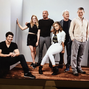 LoT Cast at Comic Con
