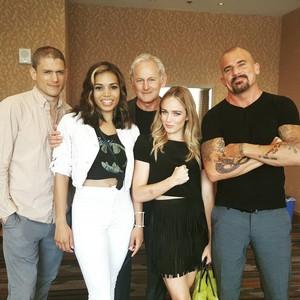 LoT Cast at Comic Con