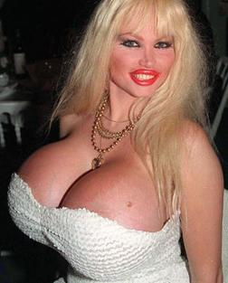 Lolo Ferrari- Eve Valois (February 9, 1963] – March 5, 2000)