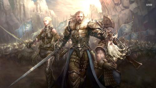 द लॉर्ड ऑफ द रिंग्स वॉलपेपर titled Lord of the Rings Online