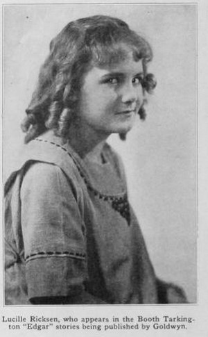 Lucille Ricksen (August 22, 1910 – March 13, 1925)