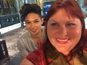 Magnus and Cassandra Clare