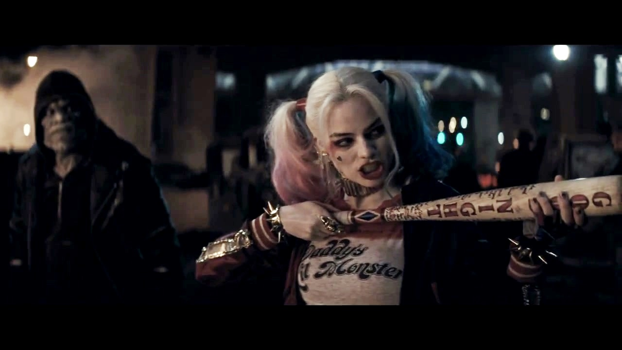 Margot Robbie as Harley Quinn in the First Trailer for 'Suicide Squad'