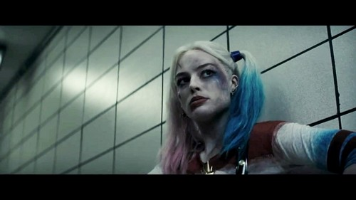 Harley Quinn wallpaper entitled Margot Robbie as Harley Quinn in the First Trailer for 'Suicide Squad'