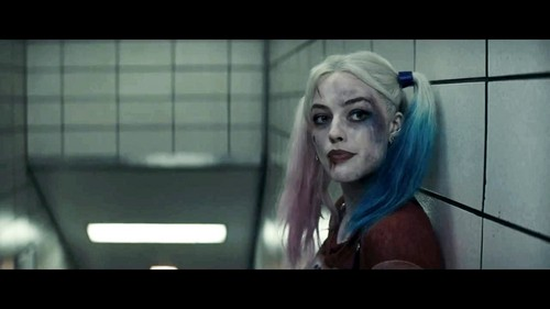 Harley Quinn wallpaper titled Margot Robbie as Harley Quinn in the First Trailer for 'Suicide Squad'
