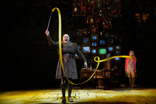 Matilda The Musical Wallpaper Called Broadway