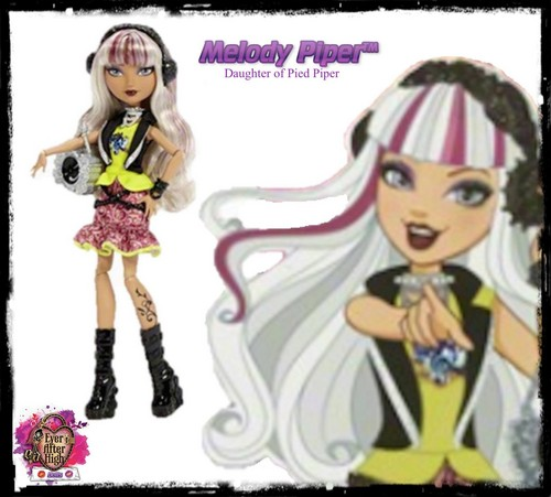 Ever After High wallpaper with Anime entitled Melody Piper