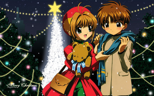 Cardcaptor Sakura پیپر وال called Merry Christmas!