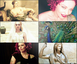 Metal celebrities as Greek gods/godesses.