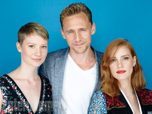 Mia Wasikowska, Tom Hiddleston, Jessica Chastain