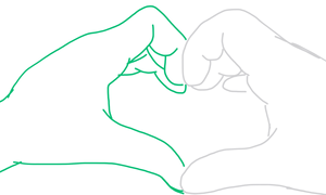 MighAmel - pag-ibig hand