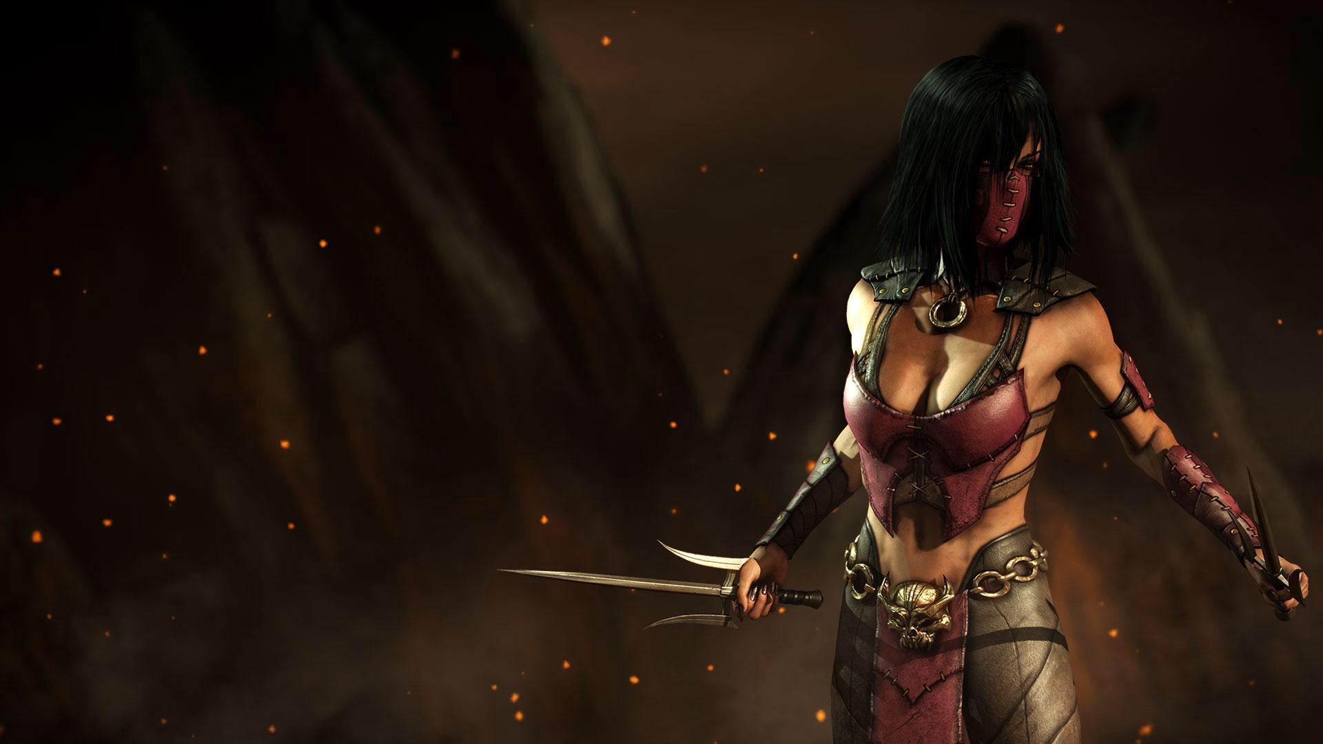 Mileena: Former Empress/Kahnum of Outworld